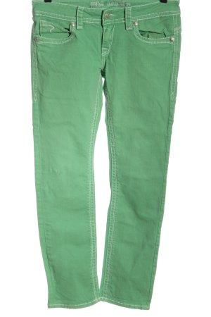 Blue Monkey Jeans coupe-droite vert style décontracté