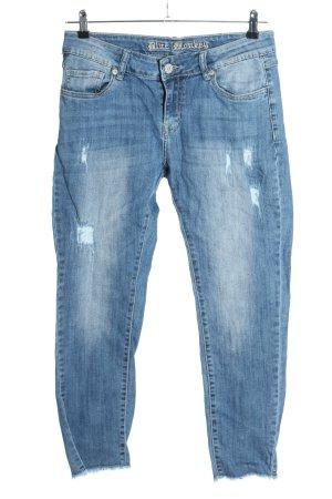 Blue Monkey Stretch Jeans blau Casual-Look