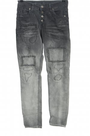 Blue Monkey Stretch Jeans light grey casual look