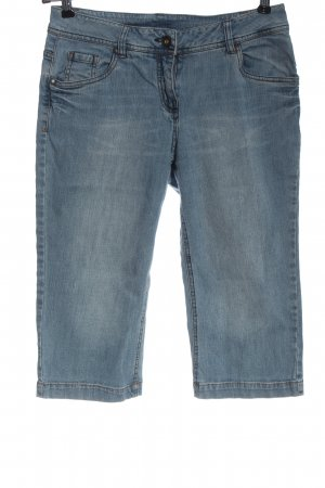 Blue Motion 3/4-jeans blauw casual uitstraling