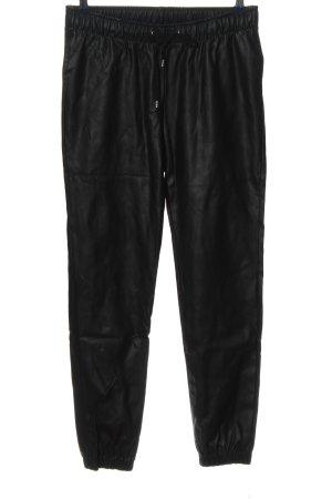 Blue Motion Luźne spodnie czarny W stylu casual