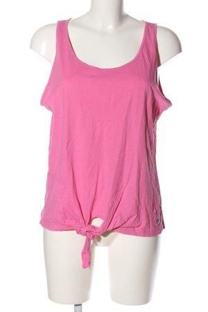 Blue Motion Top basic rosa stile casual