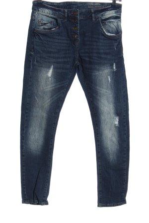 Blue Motion Jeans boyfriend bleu style décontracté
