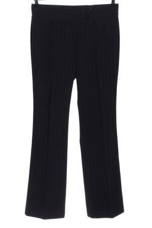 Blue Motion Pantalone a pieghe nero-grigio chiaro motivo a righe