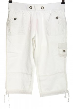 Blue Motion Capris white casual look