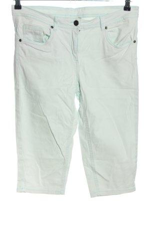 Blue Motion Spodnie Capri jasnoszary W stylu casual