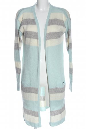 Blue Motion Cardigan Allover-Druck Casual-Look