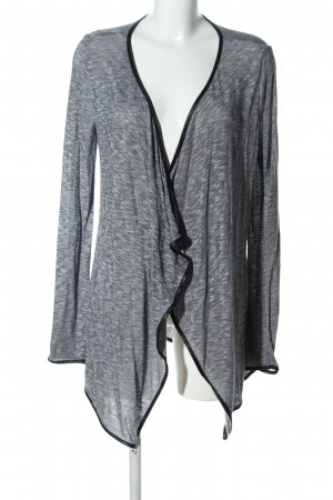 Blue Motion Cardigan hellgrau meliert Business-Look