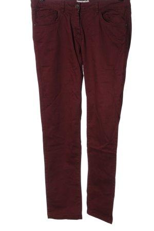 Blue Motion Spodnie z pięcioma kieszeniami czerwony W stylu casual