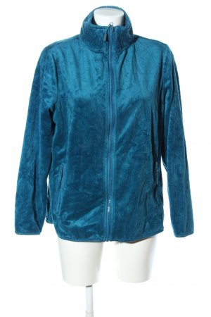 Blue Motion Fleecejacke blau Casual-Look