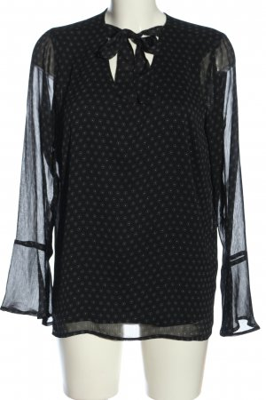 Blue Motion Hemd-Bluse Allover-Druck Casual-Look