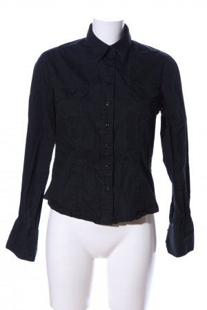 Blue Motion Hemd-Bluse schwarz Casual-Look