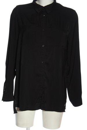 Blue Motion Hemd-Bluse schwarz Elegant
