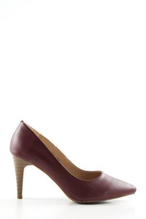 Blue Motion High Heels braun Business-Look