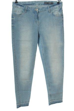 Blue Motion Jeans a vita alta blu stile casual