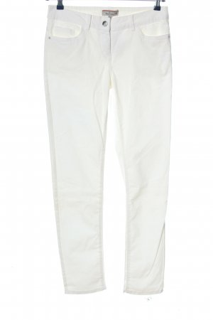 Blue Motion Slim Jeans white casual look