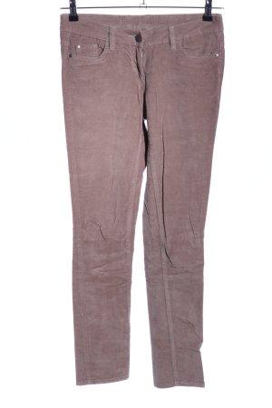 Blue Motion pantalón de cintura baja marrón look casual