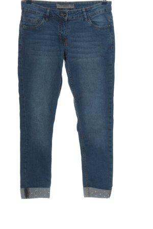 Blue Motion Jeans vita bassa blu stile casual
