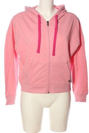 Blue Motion Felpa con cappuccio rosa stile casual