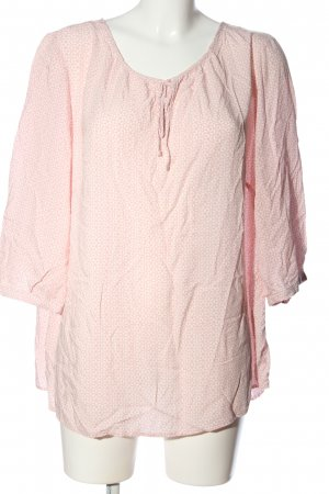 Blue Motion Langarm-Bluse pink Allover-Druck Business-Look