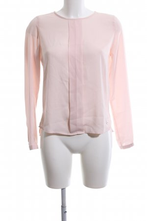 Blue Motion Langarm-Bluse pink Business-Look