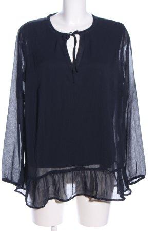 Blue Motion Langarm-Bluse schwarz Casual-Look