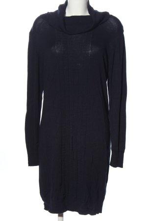 Blue Motion Sukienka z długim rękawem czarny W stylu casual