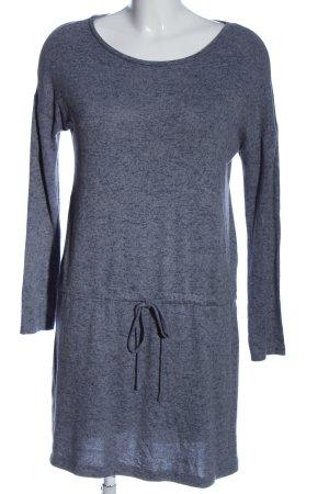Blue Motion Langarmkleid blau meliert Casual-Look