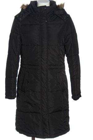 Blue Motion Długa kurtka czarny W stylu casual