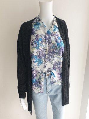 Blue Motion M L 40 42 grau Oversize Pullover Pulli mantel cardigan strickjacke Jacke blazer parka