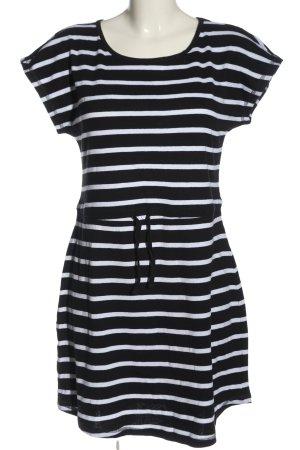 Blue Motion Sommerkleid schwarz-weiß Streifenmuster Casual-Look
