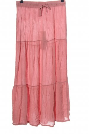 Blue Motion Midi-rok roze casual uitstraling