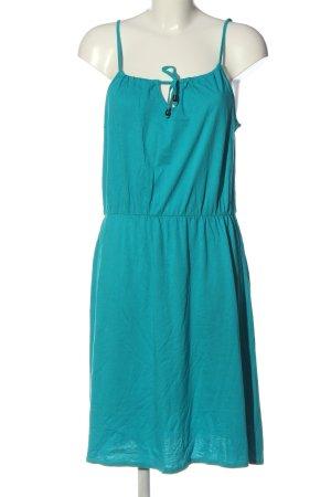 Blue Motion Mini-jurk turkoois casual uitstraling