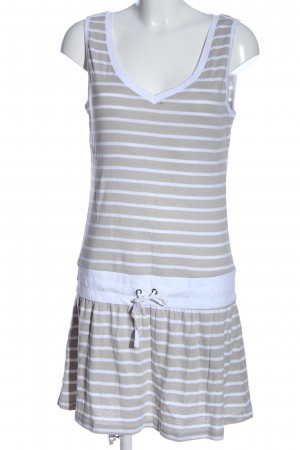 Blue Motion Sukienka mini jasnoszary-niebieski Wzór w paski W stylu casual