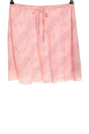 Blue Motion Spódnica mini różowy Na całej powierzchni W stylu casual