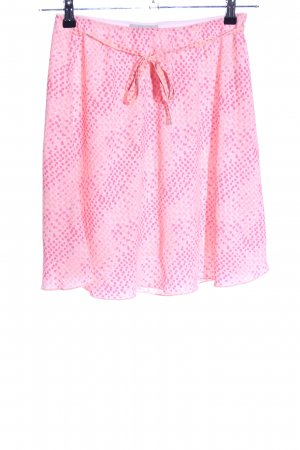 Blue Motion Minirock pink Punktemuster Casual-Look