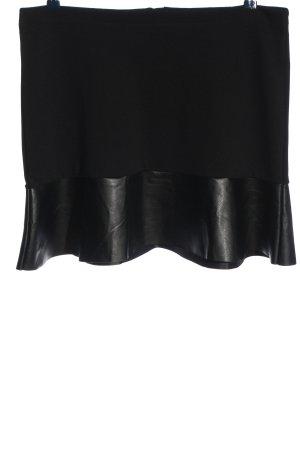Blue Motion Spódnica mini czarny Z połyskiem