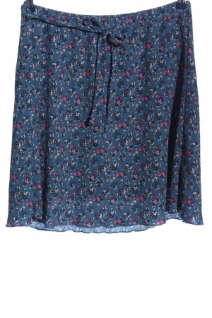 Blue Motion Miniskirt allover print casual look