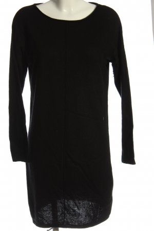 Blue Motion Sweater Dress black casual look