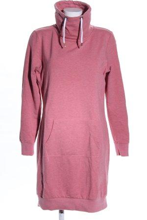 Blue Motion Pulloverkleid pink meliert Casual-Look