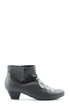 Blue Motion Reißverschluss-Stiefeletten schwarz Casual-Look