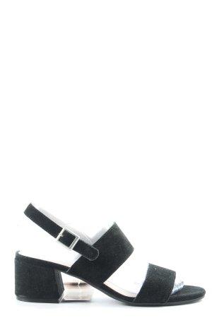 Blue Motion Sandalo con cinturino nero stile casual