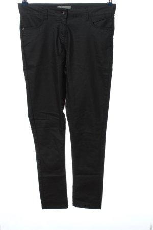 Blue Motion Spodnie rurki czarny W stylu casual