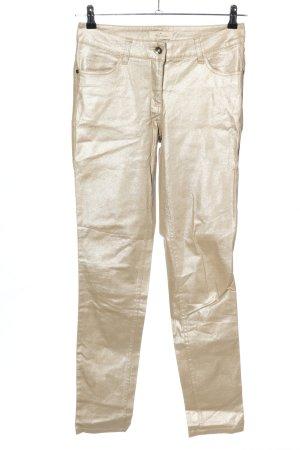 Blue Motion Spodnie rurki nude W stylu casual