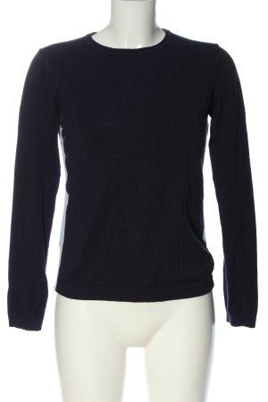 Blue Motion Sweter z okrągłym dekoltem niebieski Prosty styl