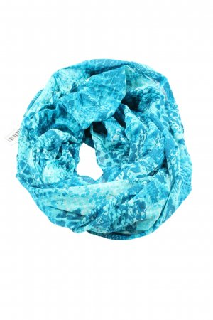 Blue Motion Snood abstract patroon casual uitstraling