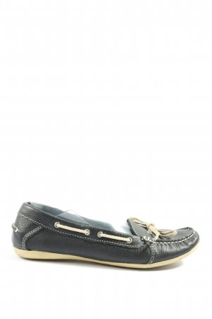 Blue Motion Scarpa slip-on nero-bianco sporco stile casual