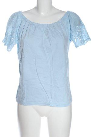 Blue Motion Schlupf-Bluse blau Casual-Look