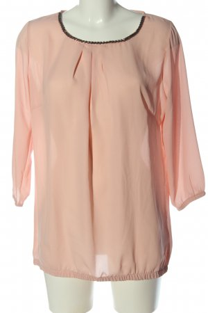 Blue Motion Slip-over blouse roze casual uitstraling