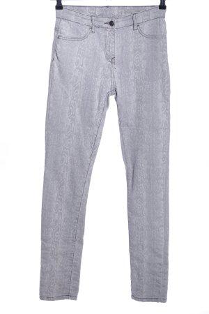 Blue Motion Skinny Jeans hellgrau Allover-Druck Casual-Look